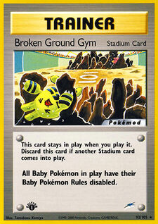 Broken Ground Gym (MODN4 92)