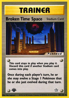 Broken Time Space (MODN1 101)