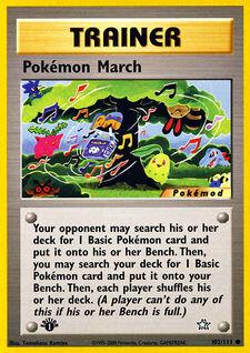 Pokémon March (MODN1 102)