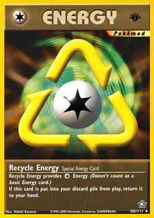Recycle Energy (MODN1 105)