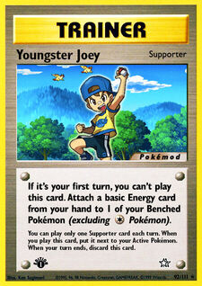 Youngster Joey (MODN1 92)
