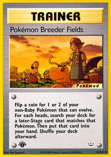 Pokémon Breeder Fields (MODN3 62)