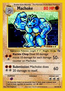 Machoke (MODPXBS 34)
