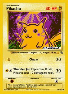 Pikachu (MODPXBS 58)