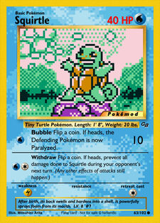 Squirtle (MODPXBS 63)
