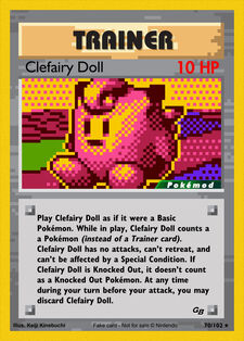 Clefairy Doll (MODPXBS 70)