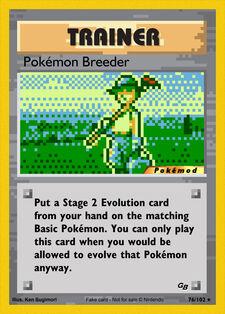 Pokémon Breeder (MODPXBS 76)