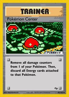 Pokémon Center (MODPXBS 85)