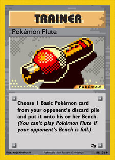 Pokémon Flute (MODPXBS 86)