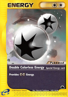 Double Colorless Energy (MODSKR 142)