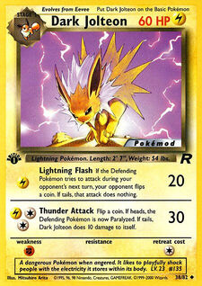 Dark Jolteon (MODTR 38)