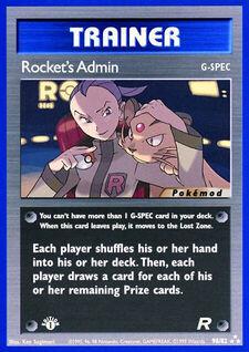 Rocket's Admin (MODTR 98)