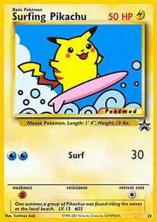Surfing Pikachu (MODWBSP 28)