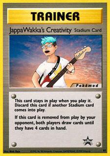 Jappawakka's Creativity (MODWBSP 61)
