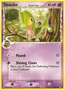 Treecko (Delta Species) (POP4 15)