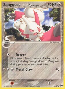 Zangoose (Delta Species) (POP5 15)