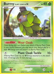 Burmy Plant Cloak (POP7 11)