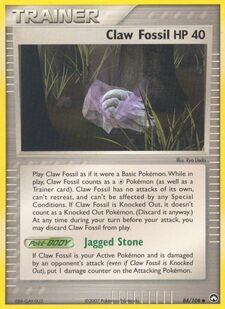 Claw Fossil (PK 84)