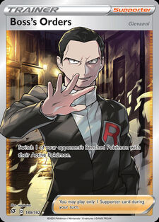 Boss's Orders (Giovanni) (RCL 189)