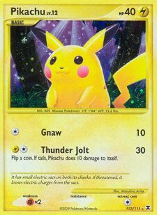 Pikachu (RR 112)
