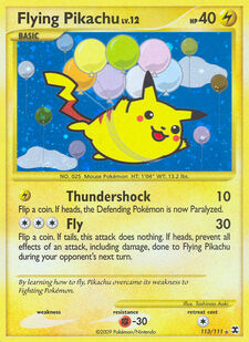 Flying Pikachu (RR 113)