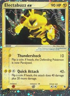 Electabuzz ex (RS 97)