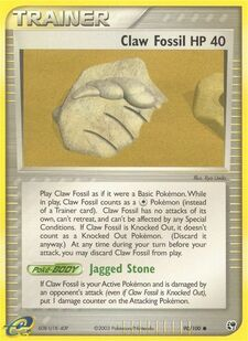 Claw Fossil (SS 90)