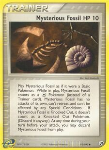 Mysterious Fossil (SS 91)