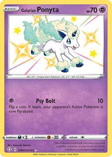 Galarian Ponyta (SHF SV47)