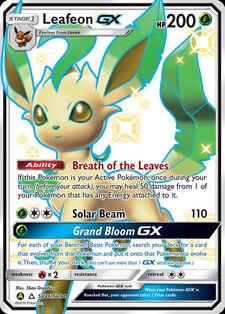 Leafeon-GX (SMA SV46)