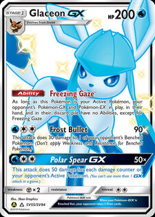 Glaceon-GX (SMA SV55)