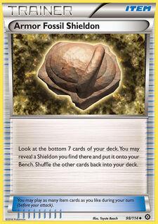 Armor Fossil Shieldon (STS 98)