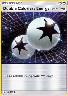 Double Colorless Energy (SM 136)