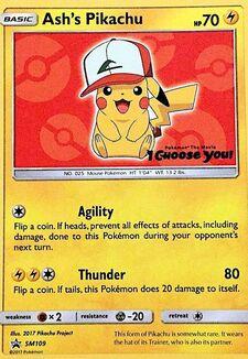 Ash's Pikachu (SMP SM109)