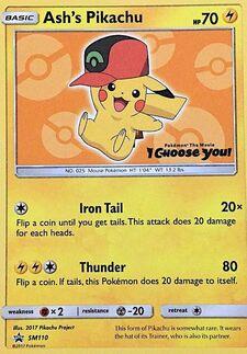 Ash's Pikachu (SMP SM110)