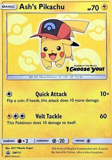 Ash's Pikachu (SMP SM111)