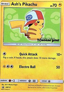 Ash's Pikachu (SMP SM112)