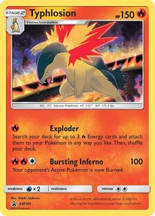 Typhlosion (SMP SM185)