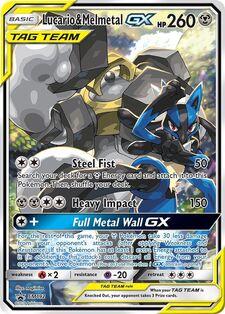 Lucario & Melmetal-GX (SMP SM192)