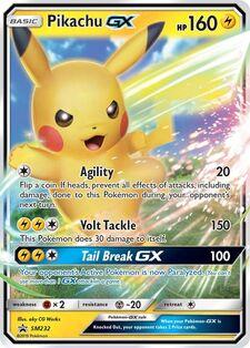 Pikachu-GX (SMP SM232)