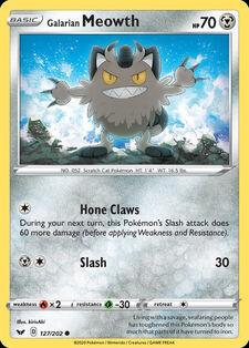 Galarian Meowth (SSH 127)