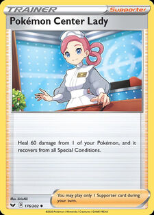 Pokémon Center Lady (SSH 176)