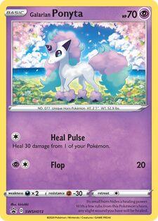 Galarian Ponyta (SWSHP SWSH013)