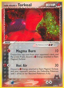 Team Magma's Torkoal (MA 12)