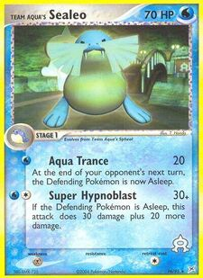 Team Aqua's Sealeo (MA 16)
