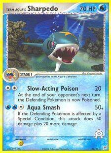 Team Aqua's Sharpedo (MA 18)