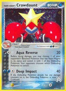 Team Aqua's Crawdaunt (MA 2)