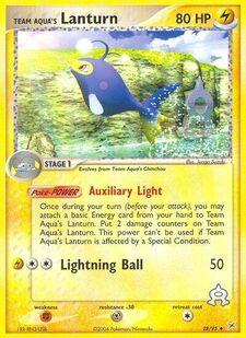 Team Aqua's Lanturn (MA 28)