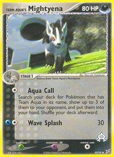 Team Aqua's Mightyena (MA 30)