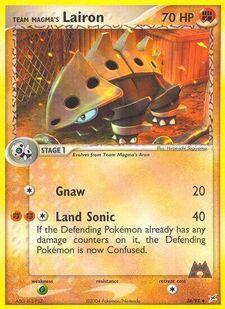 Team Magma's Lairon (MA 36)